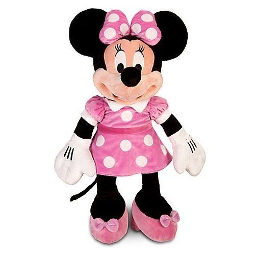 Peluche Disney Minnie Mouse 27 H HOT ROSE Disney Junior