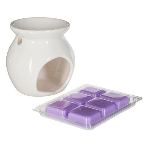 Brûle-Parfum & Cire 30g Lavande