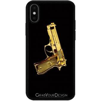 iphone x coque pistolet