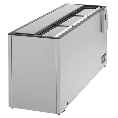 Refroidisseur de Boissons - 281 à 508 Litres - Virtus - 380 Litres 1410 mm Vitrée/coulissante