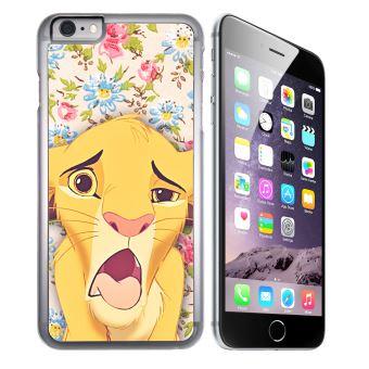 Coque pour iPhone 6 et iPhone 6S roi lion simba grimace