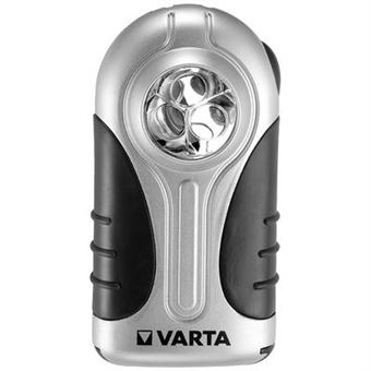 2 37 Sur Lampe De Poche Plate Led Silver Light Varta Torches Achat Prix Fnac