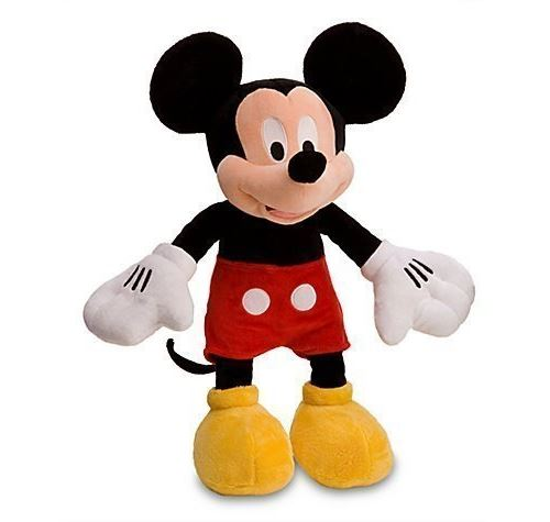Peluche Mickey Mouse Exclusive au Disney Store - 18 H