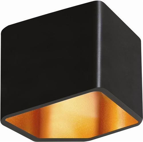 Applique Noire & Dorée Space, LED 6W, IP20, 230V, Classe I