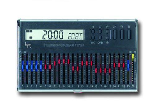 came bpt chronothermostat numérique avec curseurs th/124.01 gr 69403610