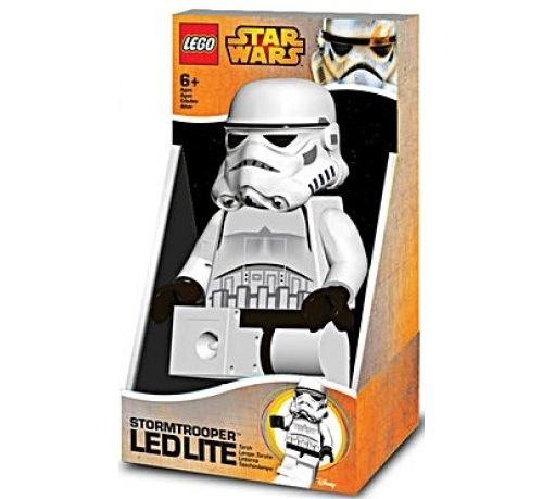 Lego : lampe de poche stormtrooper - figurine de 20cm - lampe de poche enfant blanche - star wars