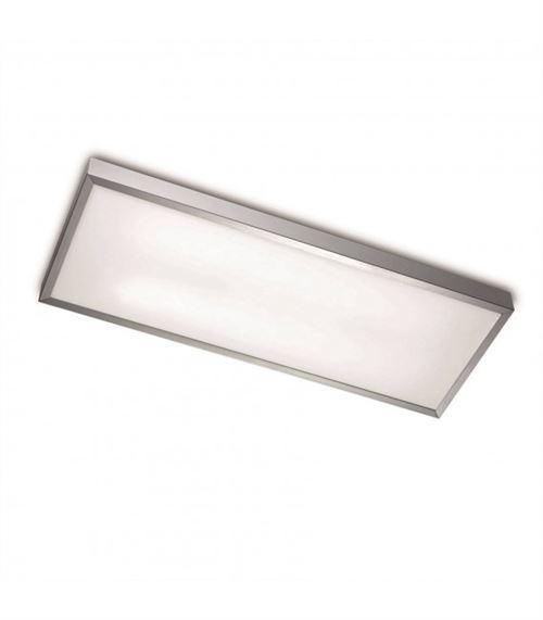 Plafonnier Toledo, aluminium et acrylique, 64 cm