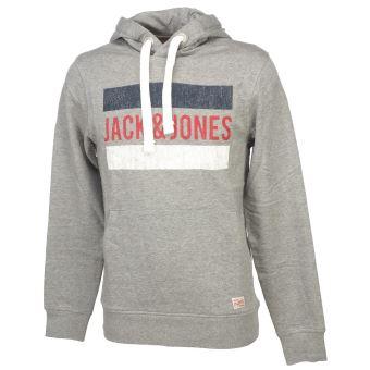 Grey Cap Logika Jones Mel Hooded And Sweat Capuche Sw Lt Jack BRUIx