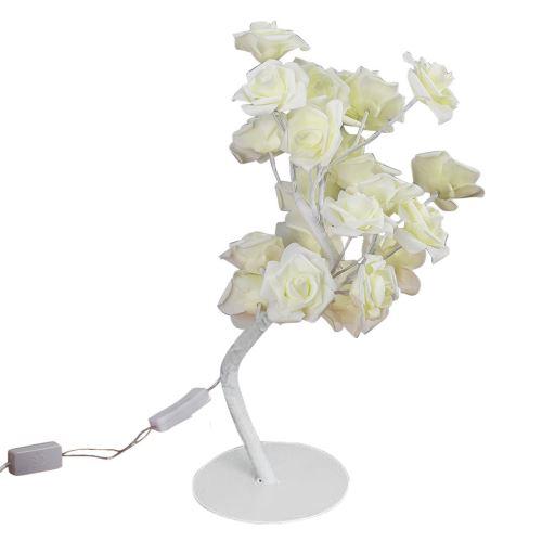 Led Rose Flower Couronne de Lumières Fée de Soirée de Mariage Décoration JJZM050