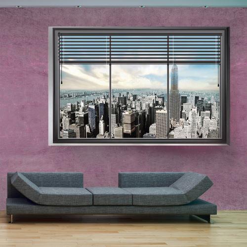 Papier peint - New York window II - Décoration, image, art | Ville et Architecture | New York |