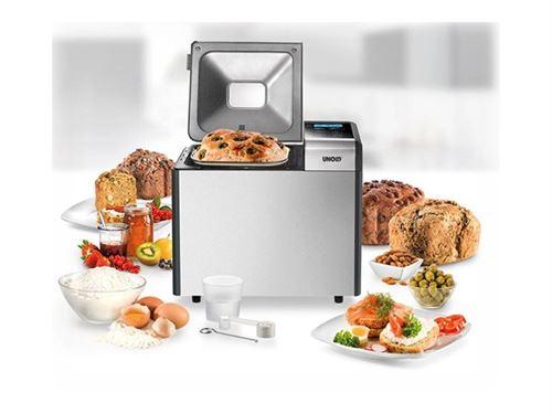 UNOLD 68415 - Machine à pain - 615 Watt - inox/noir