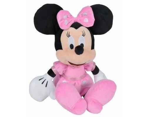 Disney Minnie Mouse - Peluche Minnie - Matériau Softwool 35cm