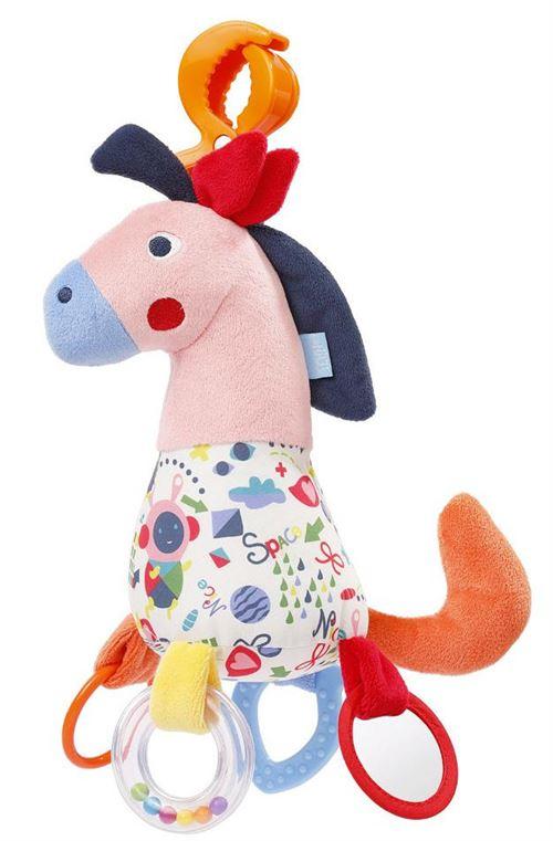 Fehn poussette tendeur Color Friendscheval junior 30 cm en peluche