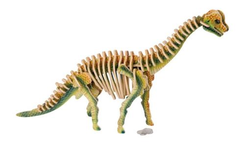 Small Foot PUZZLE 3D Brachiosaurus 34 X 7 X 24 CM 60-PIECE