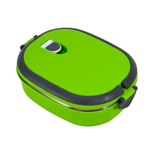 Boîte à lunch thermique acier inoxydable 1 couche - Vert