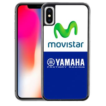 Coque pour iPhone XS yamaha factory movistar