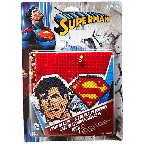 Perler Beads 'Superman' Fuse Bead Activity Kit for Kids Crafts 1002 pcs