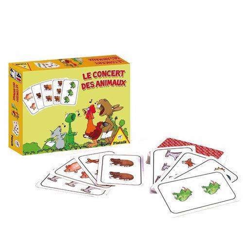 PIATNIK Jeux - Le Concert Des Animaux Multicolore