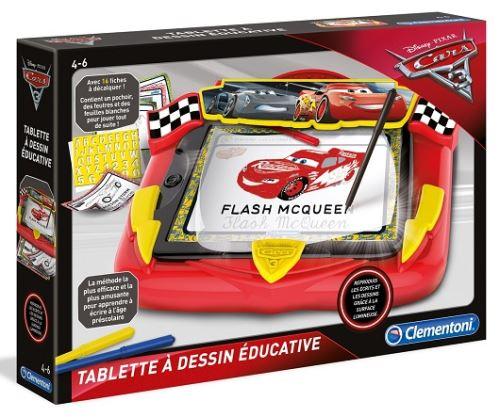 Cars 3 tablette a dessins educative 4-6 ans - pupitre lumineux disney