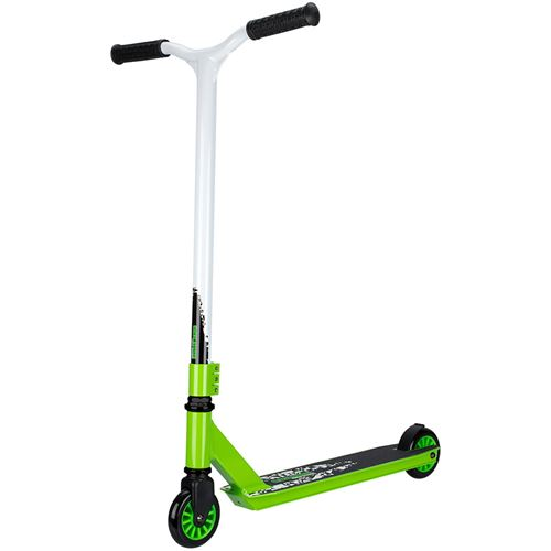 Scooter Stunt Black Step Noir / Vert / Blanc