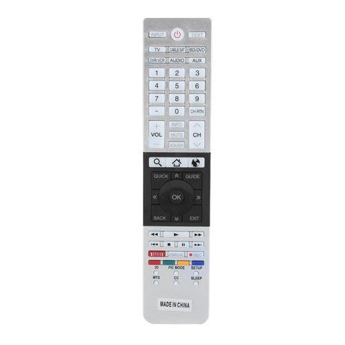 Télécommande de Remplacement pour CT-90430 CT-90429 CT-90427 CT-90428 CT-90444 Toshiba