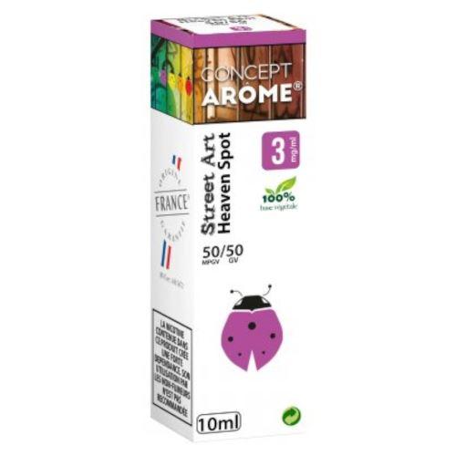 Conceptarôme - E-liquide Mixte Prenium – Heaven Spot 3 mg.
