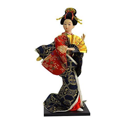 Decoration Geisha Dolls Authentic Japanese Historical Figures 12 inches # 064