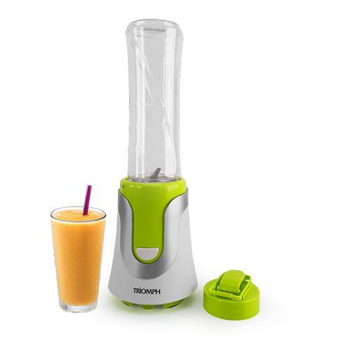Blender à smoothie - 300W - Bouteille sport - 600 ml - Triomph ETF1828