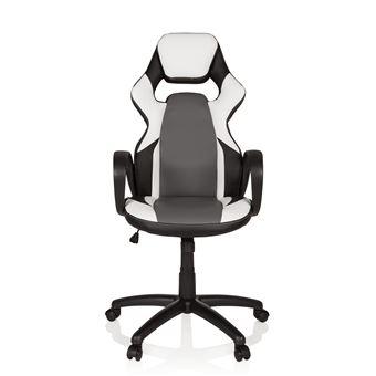 hjh de gaming OFFICE RANGER cuir blanc Chaise chaise bureau simili noir NwOP8knX0