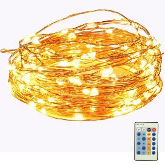 150 led guirlande lumineuse avec t l commande 15m flexible d coration pour nouvel an no l for Tele achat projecteur noel