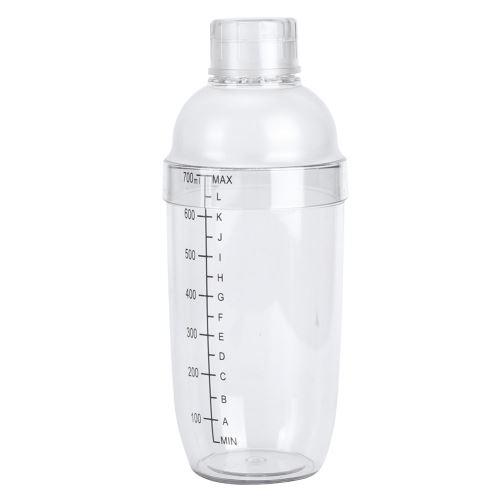 Verre à cocktail avec échelle en plastique 700ml