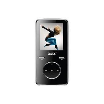 """Lecteur audio MP3 D-Jix M349BT 1.8"""" Bluetooth Noir"""