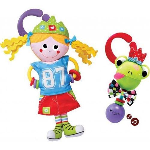 Yookidoo set de jeu Freestyle Princess avec hochet 2 pièces