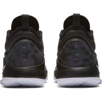 sports shoes d5dc5 1f20a ... Chaussure de Basketball Nike Zoom Lebron Witness 2 Noir et blanche pour  homme Pointure - 41 ...