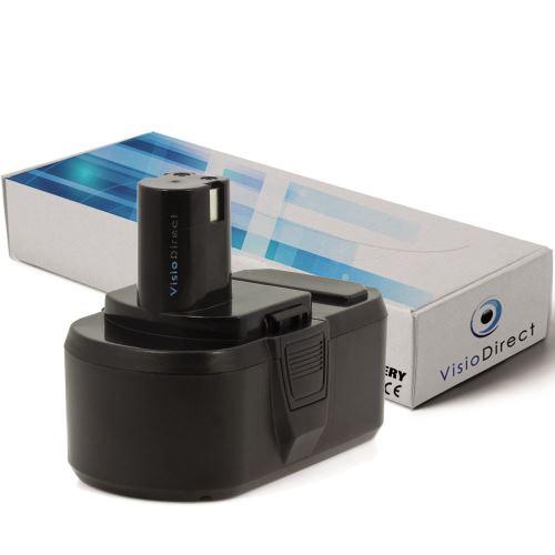 Batterie pour Ryobi CCG-1801M CCG-180L CCS-1801/DM CCS-1801/LM 3000mAh 18V -VISIODIRECT-