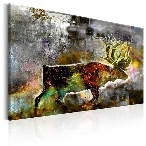 Tableau - Emerald Caribou - Décoration, image, art | Animaux divers | 60x40 cm |