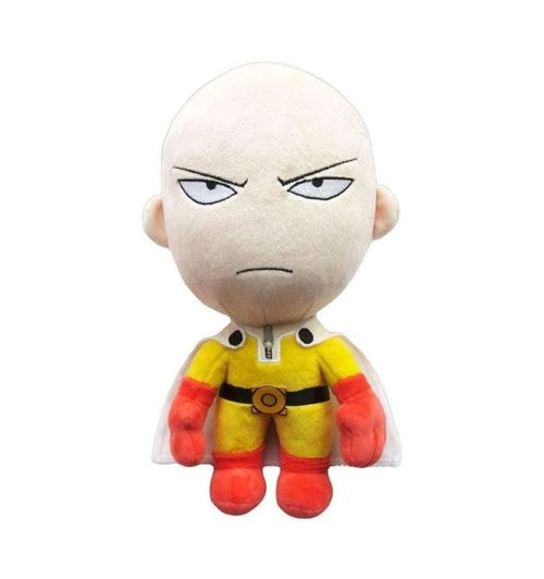 One Punch Man en peluche Saitama Version Angry 28cm Nouveau Original et sous licence