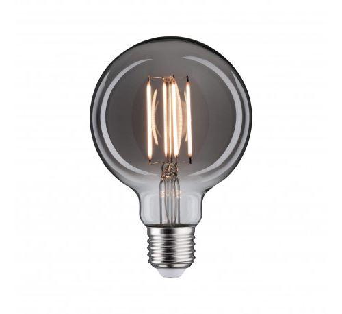 Ampoule LED vintage G95 - Verre fumé - E27 - 8W - 2200K - dimmable