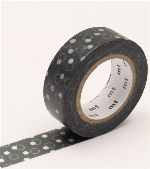 Masking Tape - Flocons olive / yukiwa - 15 mm x 10 m