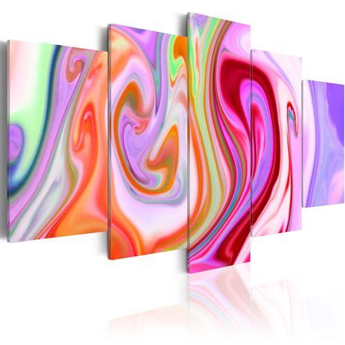Tableau | Pastel clouds | 200x100 | XXL |