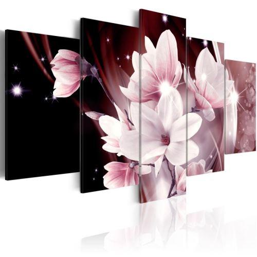 Tableau - Muse florale .Taille : 100x50