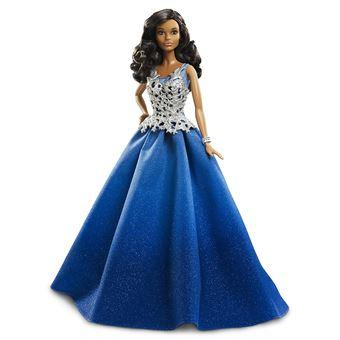 Mattel Barbie Dgx99 2016 Holiday Barbie En Robe Bleue Accessoire Poupee Achat Prix Fnac