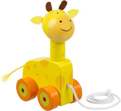 Orange Tree Toy Jouet A Tirer Girafe