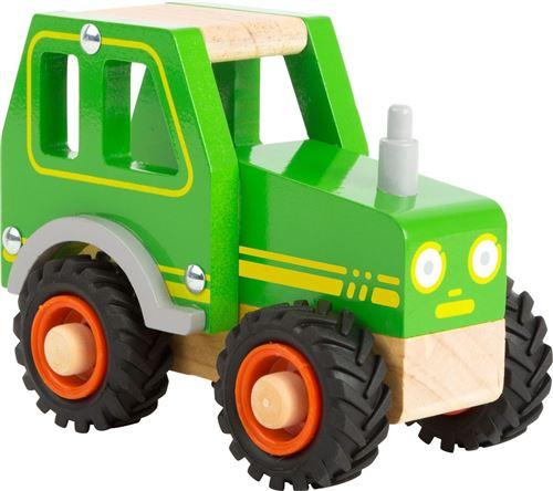 Tracteur miniature en bois - 11078