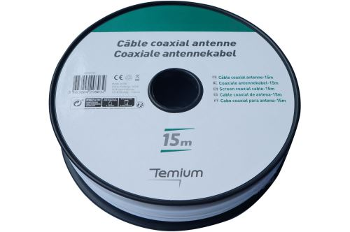 Câble vidéo Temium Bobin 15 m