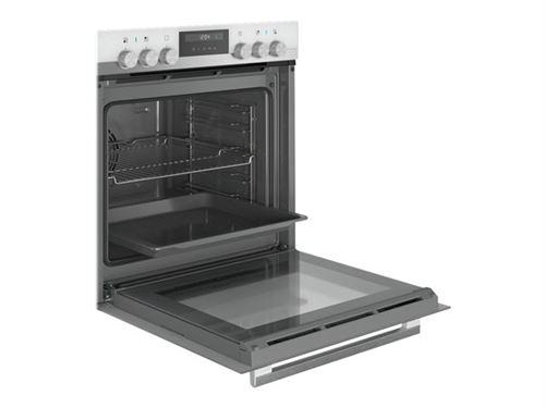 Siemens EQ521KA00W - Four avec plaque de cuisson - intégrable - inox/noir/blanc