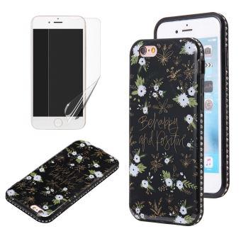 coque iphone 6 fleur blanche