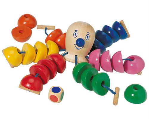 Selecta Spielzeug jeu de laçage Octopus junior bois 26 pièces