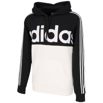 Sweat capuche hooded Adidas Ess cb oth black white cap sweat Noir taille : L réf : 29178