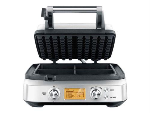 Gaufrier Sage Appliances The Smart Waffle 1000 W Argent et Noir